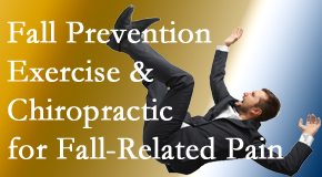 Chiropractic Care presents new research on fall prevention strategies and protocols for fall-related pain relief.