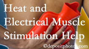 Chiropractic Care utilizes heat and electrical stimulation for West Palm Beach pain relief.