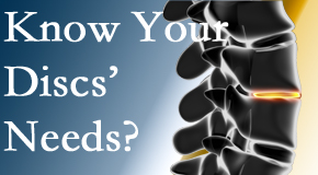 Your West Palm Beach chiropractor thoroughly understands spinal discs and what they need nutritionally. Do you?