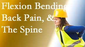 Chiropractic Care helps workers with their low back pain because of forward bending, lifting and twisting.