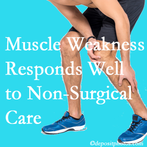 West Palm Beach chiropractic non-surgical care manytimes improves muscle weakness in back and leg pain patients.