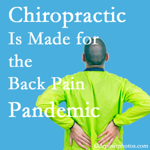 West Palm Beach chiropractic care at Chiropractic Care is prepared for the pandemic of low back pain.