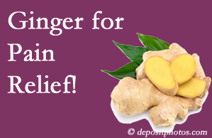West Palm Beach chronic pain and osteoarthritis pain patients will want to investigate ginger for its many varied benefits not least of which is pain reduction.