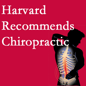 Chiropractic Care offers chiropractic care like Harvard recommends.