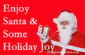 West Palm Beach holiday joy and even fun with Santa are analyzed as to their potential for preventing divorce and increasing happiness.