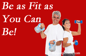Chiropractic Care urges West Palm Beach chiropractic patients to be as fit as they can for their back and body's sake!