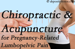 West Palm Beach chiropractic and acupuncture may help pregnancy-related back pain and lumbopelvic pain.