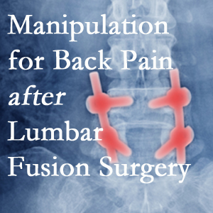 West Palm Beach chiropractic spinal manipulation assists post-surgical continued back pain patients discover relief of their pain despite fusion.