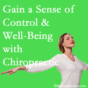 Using West Palm Beach chiropractic care as one complementary health alternative improved patients sense of well-being and control of their health.