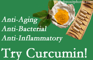 Pain-relieving curcumin may be a good addition to the Chicago chiropractic treatment plan.